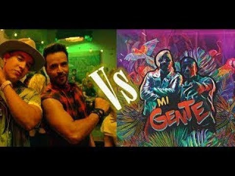 Despacito - Luis Fonsi ft. Daddy Yankee vs Mi Gente - J. Balvin, Willy William - Best Comparison
