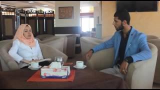 مقابلة صحفية مع الأستاذ و الناشط  حسن حسونة | مهرجان المواهب الفلسطينية