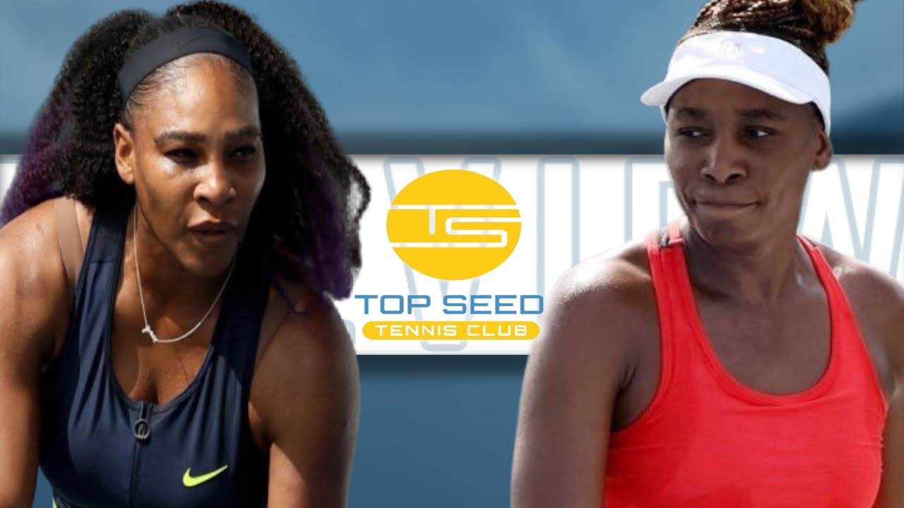 Serena Bests Sister Venus in Tight Matchup in Kentucky