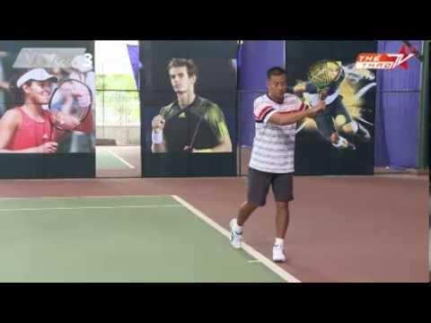 Học tennis qua video: Cú cắt trái - bài học số 12