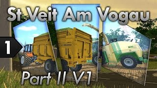 Video FS 15 découverte live | St Veit Am Vogau PartII Map V1| Superbe map download MP3, 3GP, MP4, WEBM, AVI, FLV November 2018