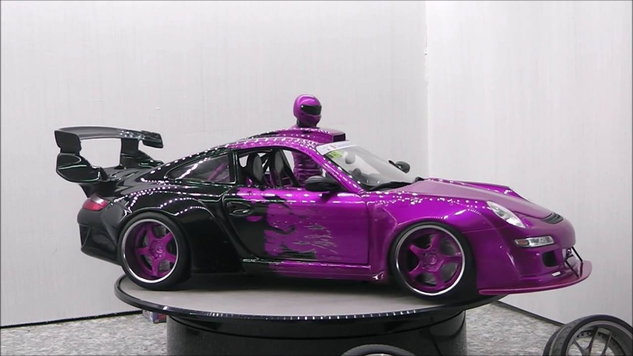 modell tuning gs performance 1 18 porsche 997 youtube. Black Bedroom Furniture Sets. Home Design Ideas