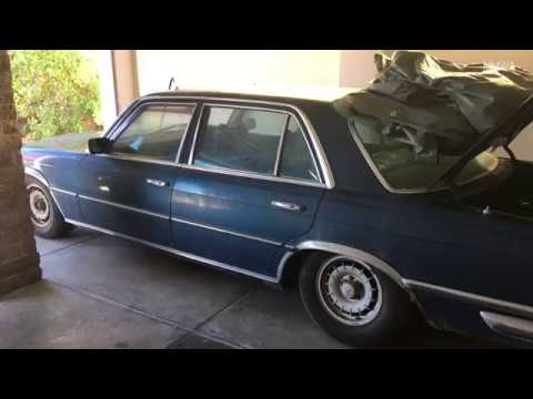 Will it start? Mercedes 450SEL 6.9 barn find, left to rot for 12 years! VIN: 000018
