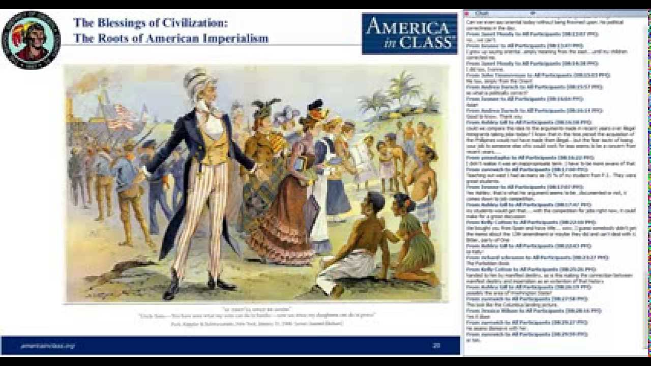 american imperialism in the nineteenth century Get an answer for 'what was the reason for american imperialism' and find homework help for other an anti-imperialist in the last 19th and early twentieth century.
