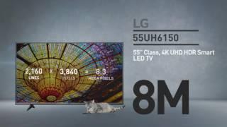 LG 55UH6150 4K UHD HDR Smart LED TV // Full Specs Review  #LGTV
