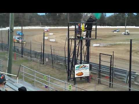 North Florida Speedway Winter Nationals 2-3-18 R. Fowler Hot Laps