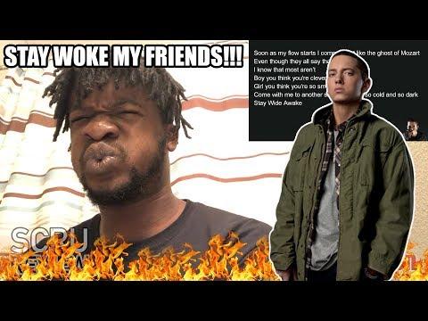 Eminem  Stay Wide Awake REACTION!
