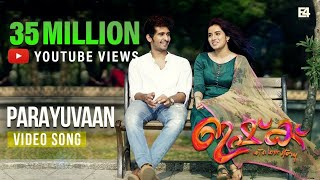 Parayuvaan Song | Ishq Movie | ShaneNigam | Ann Sheethal | Jakes Bejoy | SidSriram | Neha Nair