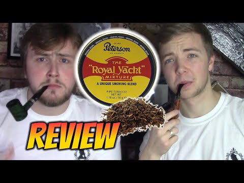 PETERSON - ROYAL YACHT - PIPE TOBACCO REVIEW!