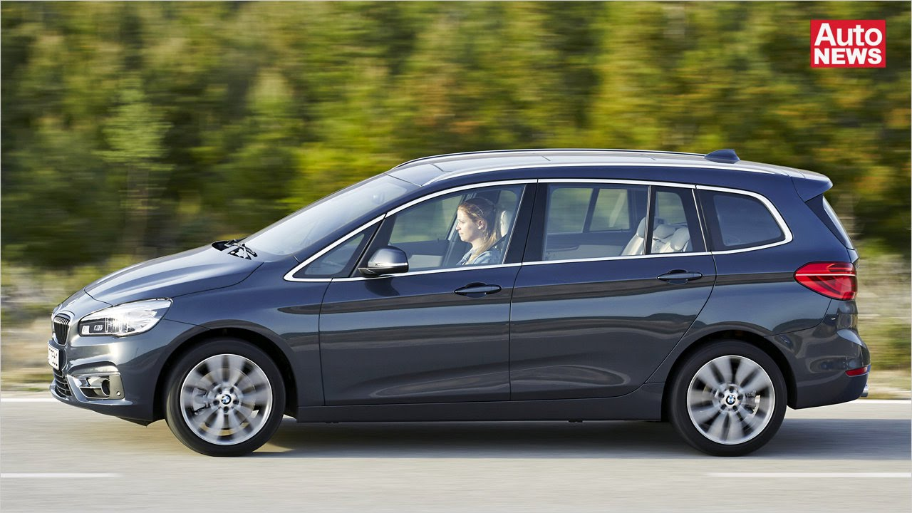 Der Bmw 2er Gran Tourer Kommt Youtube