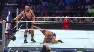 Rusev vs. Big Show on Smackdown (Sept. 26, 2014)