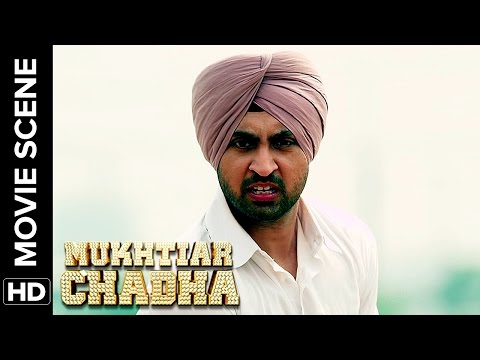 Diljit fights it out to pee | Mukhtiar Chadha | Movie Scene