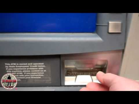 How To Rob An ATM - No Secret Code Just Four Corners Alliance Group Commissions!