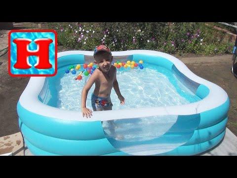 Бассейн детский INTEX  (надувной). Baby Pool (inflatable) Intex Vlog.