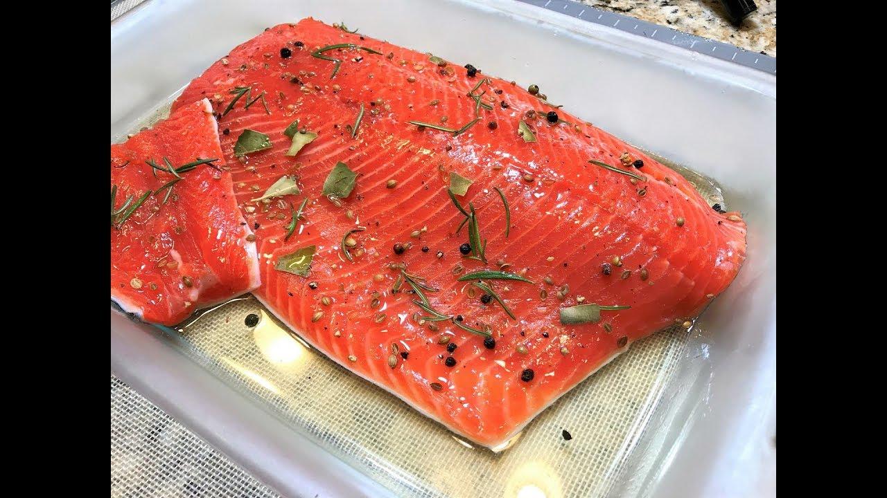 КАК ЗАСОЛИТЬ КРАСНУЮ РЫБУ быстро и вкусно! Малосольная Красная Рыба для Праздничных Закусок .