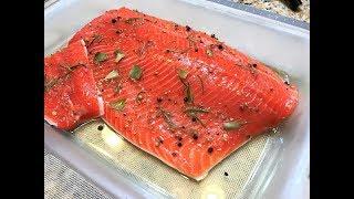 МАЛОСОЛЬНАЯ КРАСНАЯ РЫБА для Праздничных Закусок и Салатов. Как быстро и вкусно засолить рыбу.