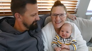Baby Got His Shots, Lunch At Cowfish & Valentines Day Candy! | Home Vlog