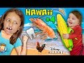 Shrimp, Corn & Loose Tooth! YUMMY Hawaii North Shore Beach Fun! FUNnel Vision Disney Aulani Tri