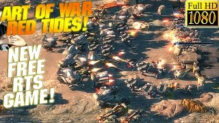 NEW FREE MULTIPLAYER RTS! - Art of War Red Tides Gameplay - PC Walkthrough - GPV247