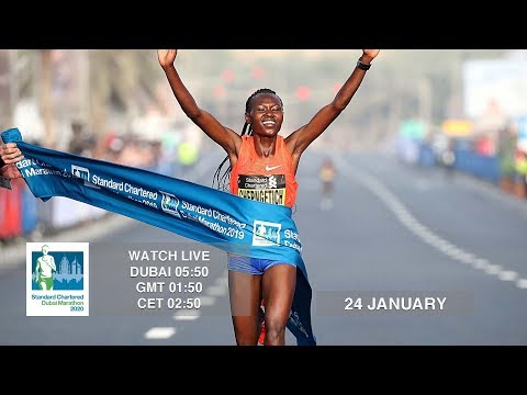 LIVE - 2020 Standard Chartered Dubai Marathon
