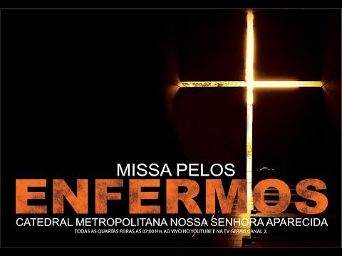 Santa Missa pelos Enfermos ao vivo diretamente da Catedral de Montes Claros