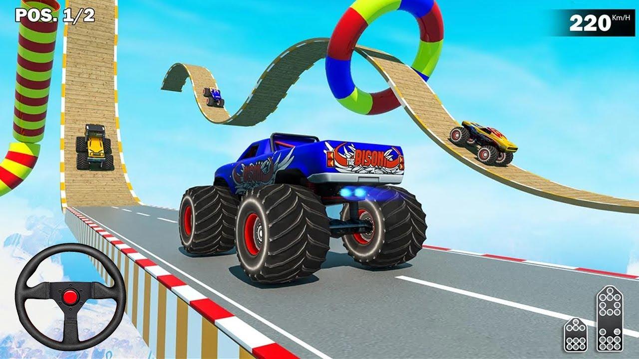 ألعاب المنحدرات الضخمة - ألعاب القيادة - العاب سيارات - العاب موبايل