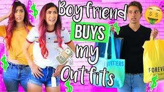 Boyfriend Buys My Outfit Challenge!!