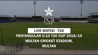 Live Match - 2nd T20: Khyber Pakhtunkhwa Under-19s vs Federal Areas Under-19s, Multan Cricket Stadiu