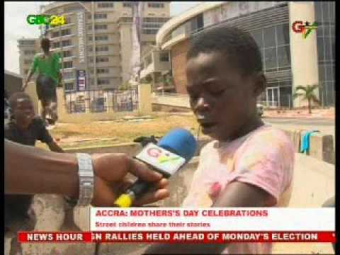 Accra: Street Children On Mother's Day