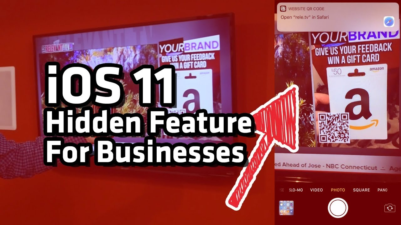 Ios 11 hidden feature that will help your business qr code scanning ios 11 hidden feature that will help your business qr code scanning via camera app colourmoves