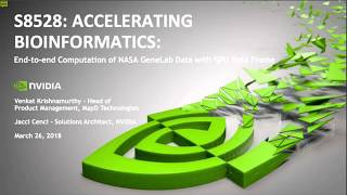Accelerating Bioinformatics: End-to-End Compuтation of NASA GeneLab Data with GPU Data Frame
