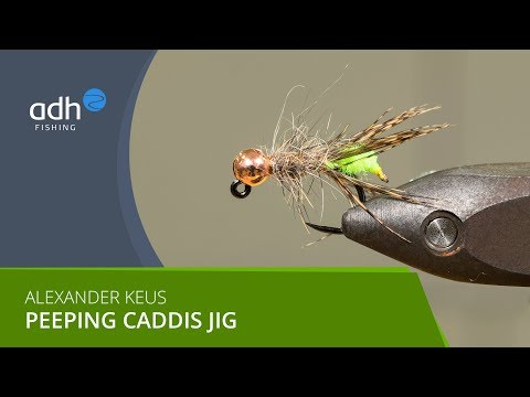 Adh-fishing TV - Bindevideo Peeping Caddis Jig