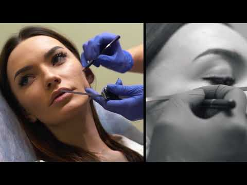 Работа врача косметолога. Рекламная видеосъемка в Севастополе Симферополе Крыму