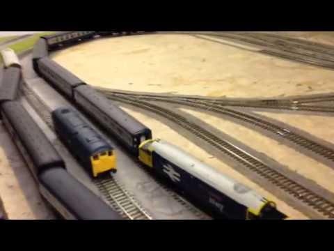 Hornby Trakmat Layout