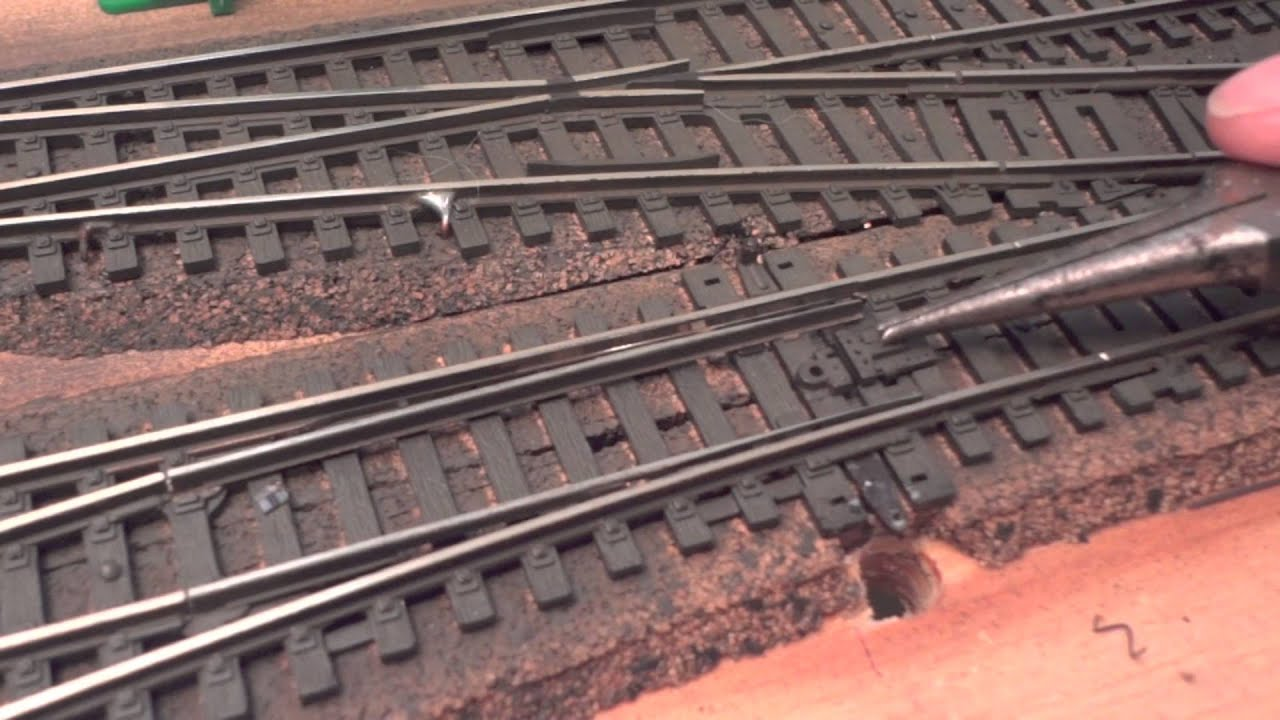 Wiring Switch Machines Ho Scale Electrical Diagrams Track How To Install A Tortoise Machine Existing Work Template
