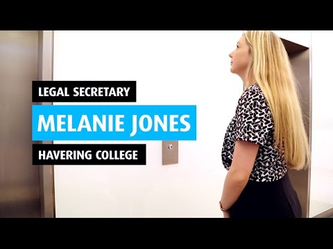 Melanie at Linklaters - Legal Secretary Success