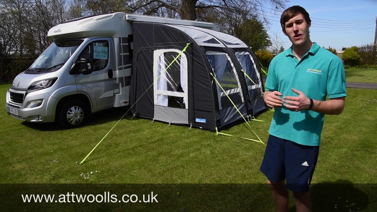 Kampa Motor Rally Air Awning Review Youtube