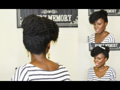 natural hair prom and wedding