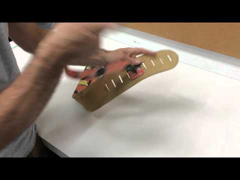 how to assemble and adjust your leather guitar strap