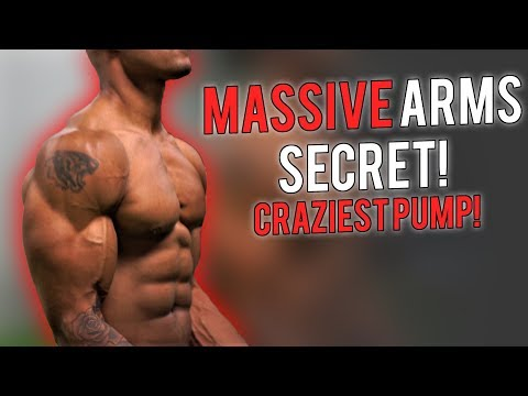 HUGE ARMS SECRET!!! | How To Build Muscle With Blood Flow Restriction / Occlusion Training EXPLAINED