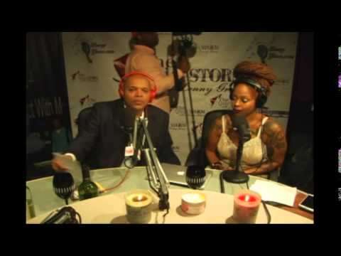 Chrisette Michele in The Quiet Storm with Lenny Green