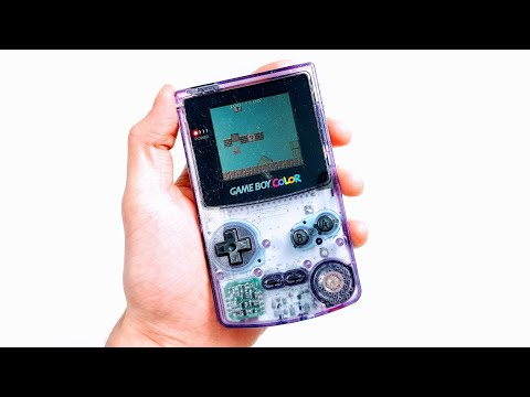 Смотрите сегодня GameBoy Color McWill BACKLIT Screen Mod! видео