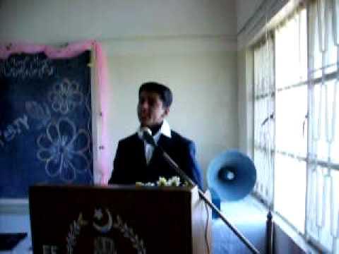 Star Student of Fauji Foundation Lachi Singing