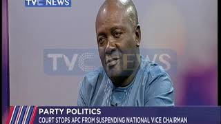 Court stops APC from suspending National Vice Chairman