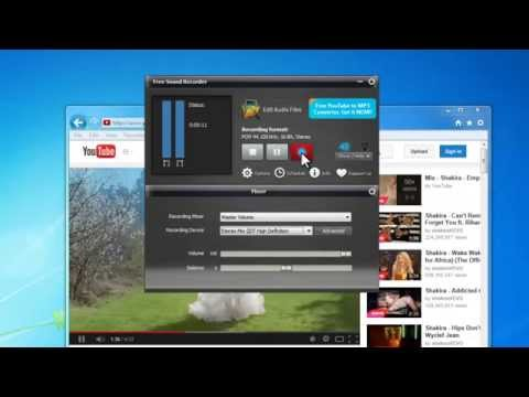 How to Record from YouTube with Free Sound Recorder Software