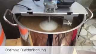 Homebrewing with www.brauhardware.de, Craft Bier, Bier selber brauen, Kompakt 36l