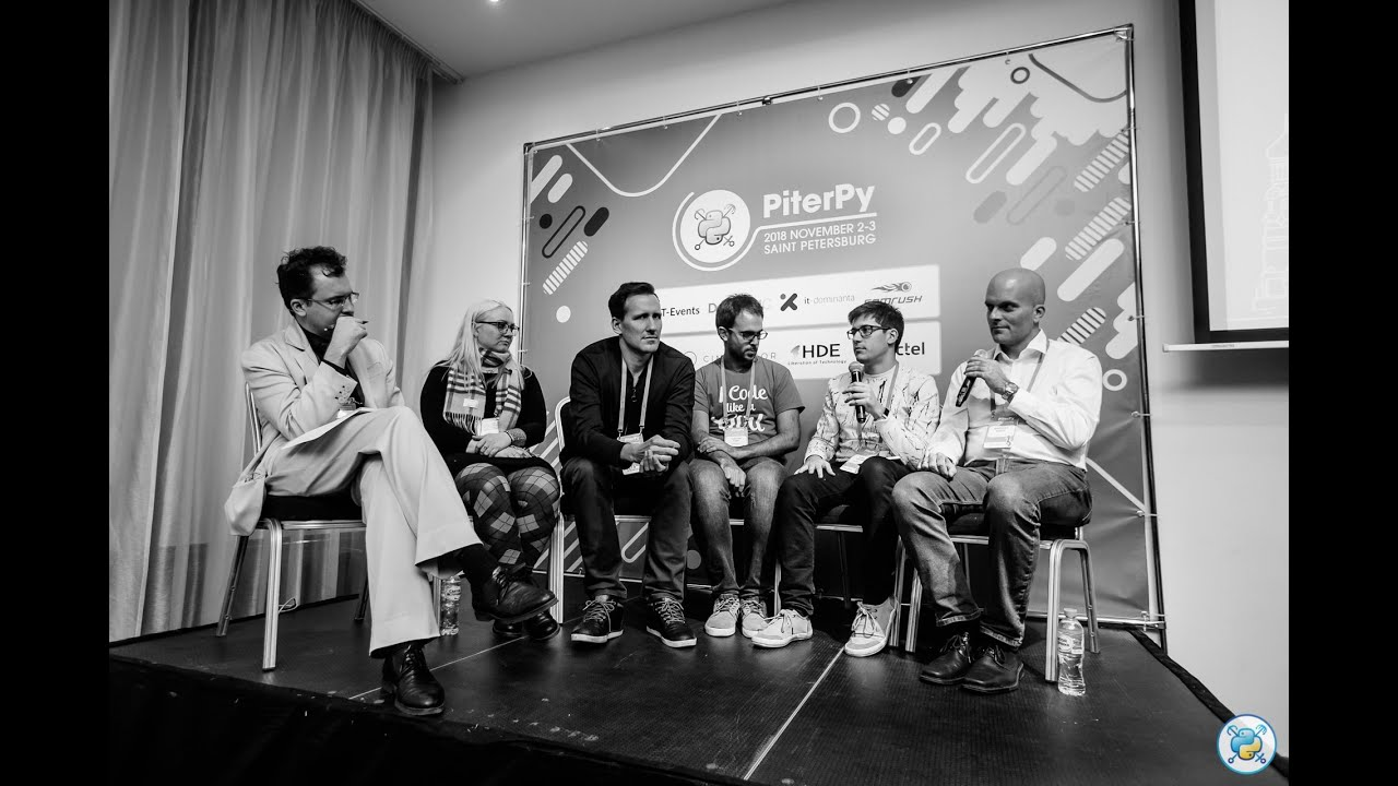 Image from [RUS] Panel discussion: The Future of Python / #PiterPy
