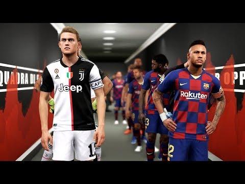 Barcelona Vs Juventus - Potential Lineup Season 2019/20 Ft Neymar , De Ligt , Pogba