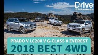 Best 4WD: 2018 Prado v LC200 v G-Class v Everest   Drive.com.au
