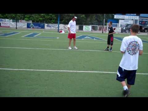 Bubby Brister (19) Quarterback Training Video